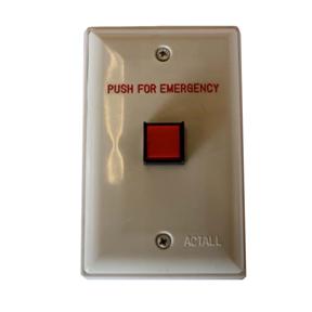 20118L/F-E | Wall Mount Push Button