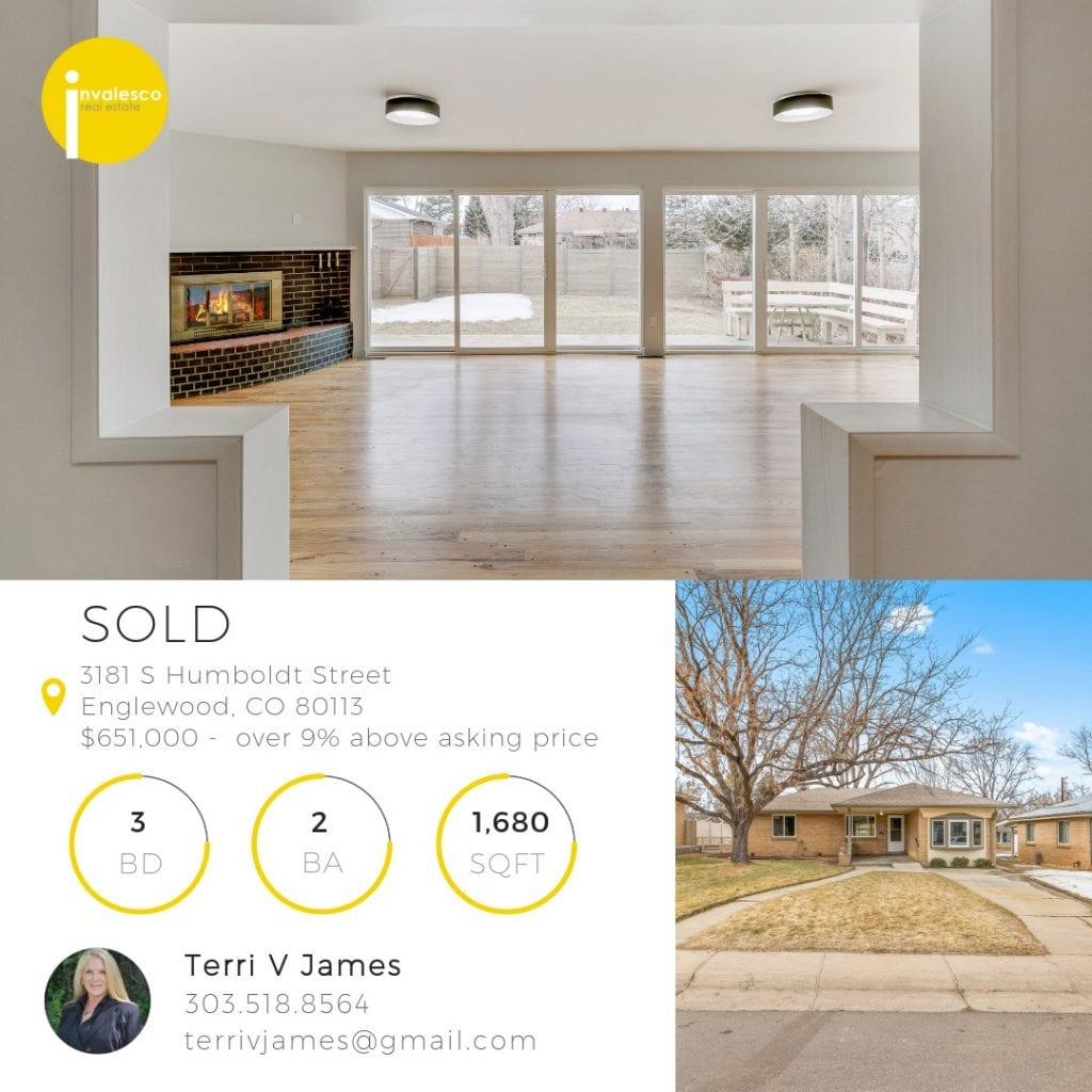 3181 S Humboldt St - Sold Social Media